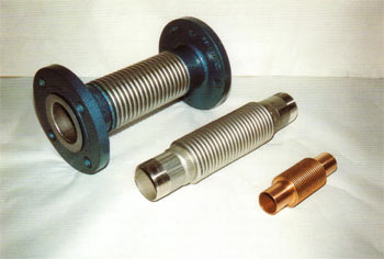 Metallic Axial Expansion Joints