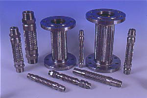 Stainless Steel Braided Pump Connector Assemblies