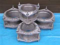 Tied Stainless Steel Pump Bellows